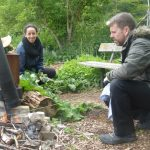 Springing into action at the permaculture plot