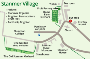 Stanmer Village Map