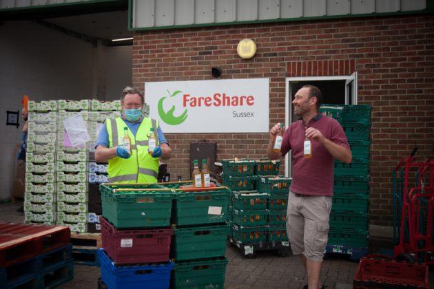 1000 bottles of juice for FareShare