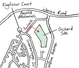 Racehill map